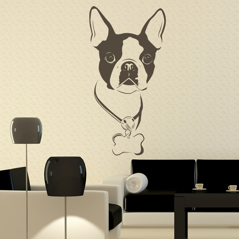 Boston Terrier Wall Art Dog Breeds Picture