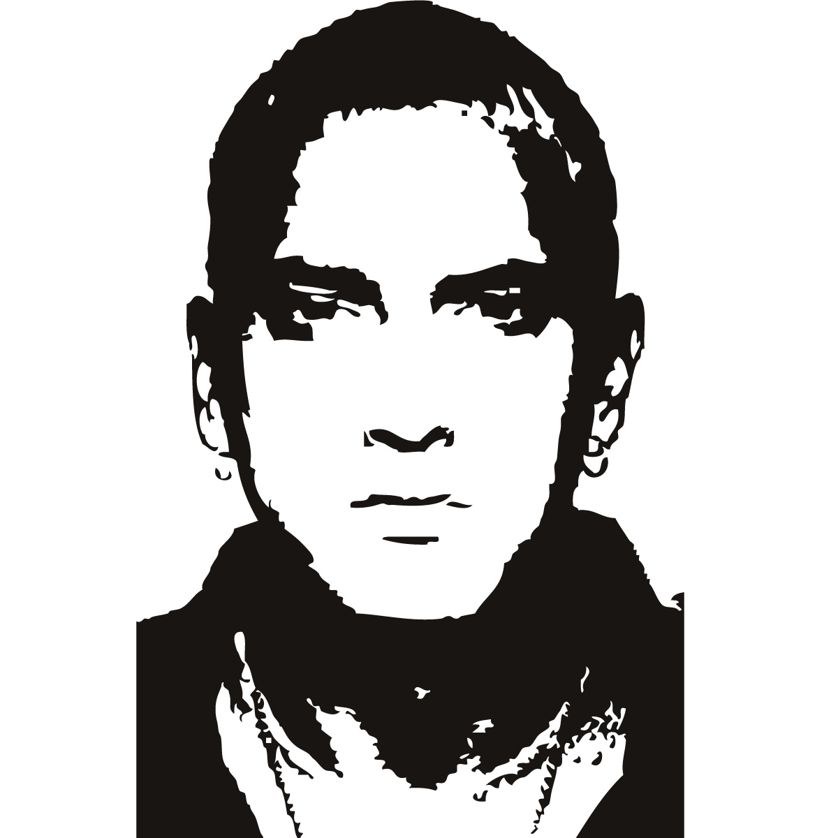 Eminem marshall mathers music celebrity wall art stickers decal click on the image below to get zoomed view of the item amipublicfo Image collections