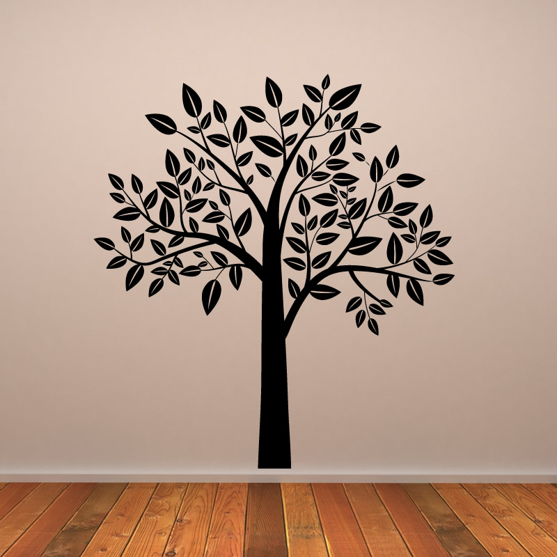 Tree wall art 2017 grasscloth wallpaper for Tree wall art