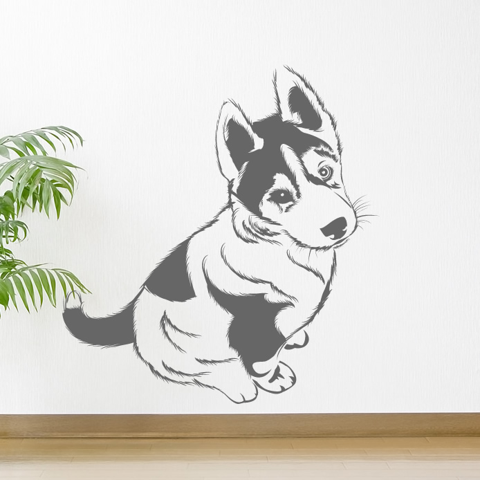 dog wall stickers related keywords amp suggestions dog adorable puppies wall stickers cute dog puppy decals great