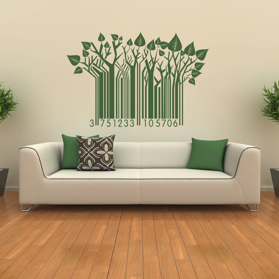 28 leaf wall stickers 18 fall leaf wall decals leaf wall stickers leaf barcode pattern wall art stickers wall decal