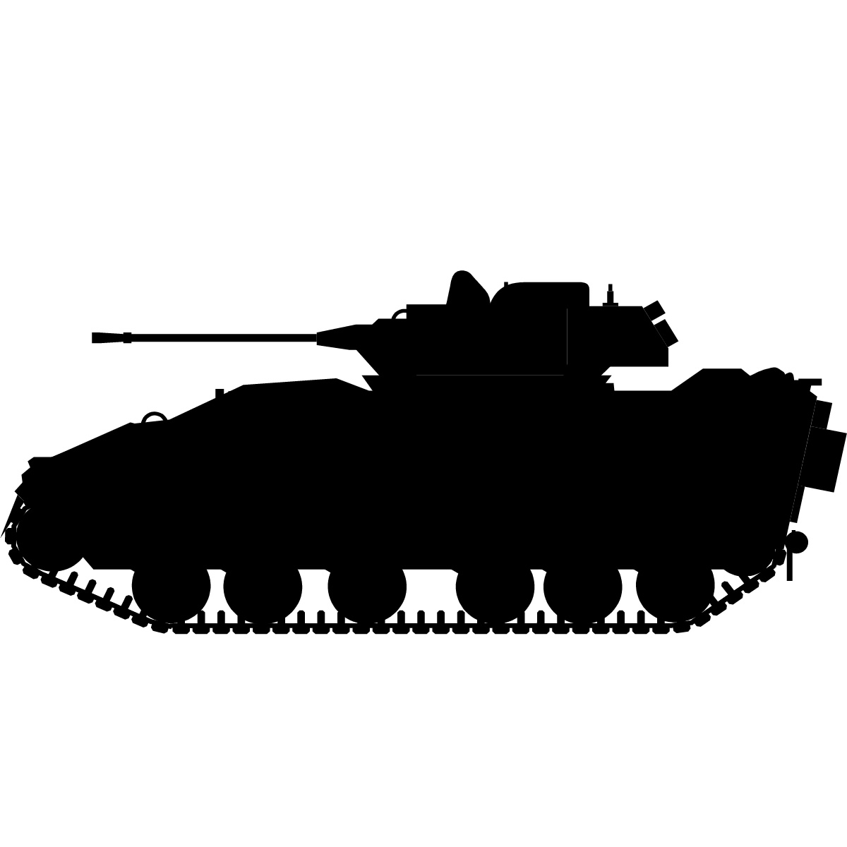 army tank transport wall art sticker wall decal transfers. Black Bedroom Furniture Sets. Home Design Ideas