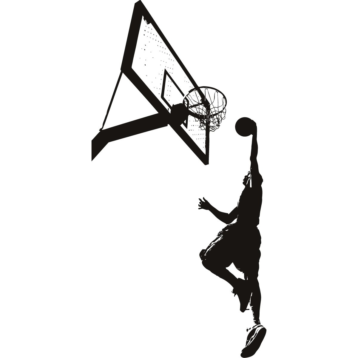 how to dunk in basketball Basketball is a limited-contact sport played on a  the most crowd-pleasing and typically highest-percentage accuracy shot is the slam dunk,.