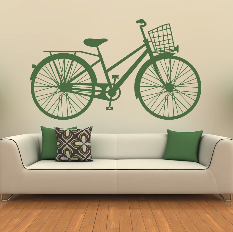 bicycle classic basket wall art sticker wall decals transfers lego ninjago vinyl wall sticker wall decals ebay