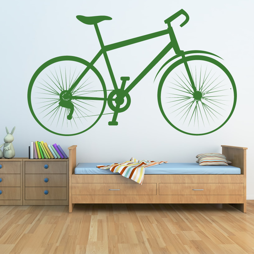 Bicycle Sports And Hobbies Bike Wall Art Sticker Wall