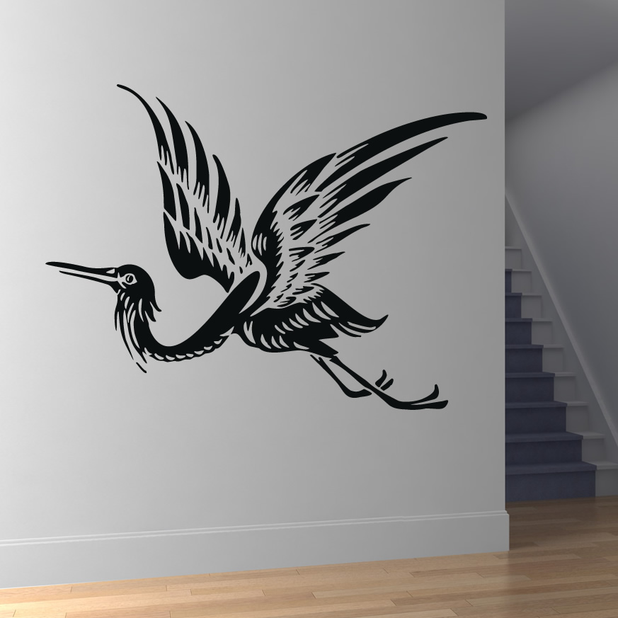 Birds flying wall art the image kid has it for Bird wall art