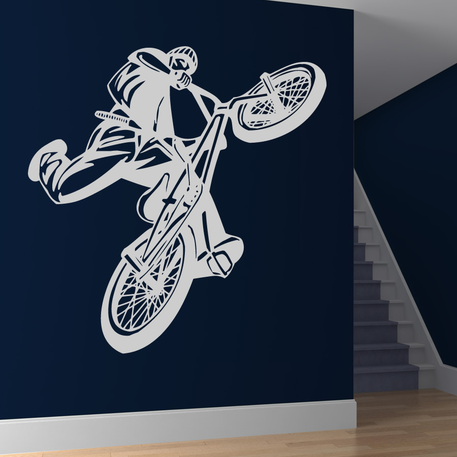 Best BMX Wall Decal - Home Design #921