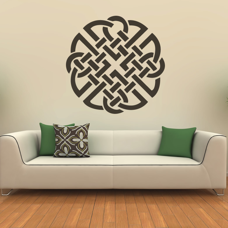 knot celtic print wall art sticker wall decal transfers ebay decorative violin wall art decals wall stickers transfers