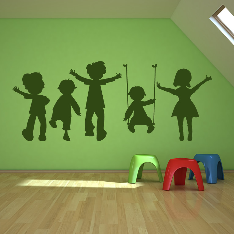 Children Wall Decals 2017 Grasscloth Wallpaper