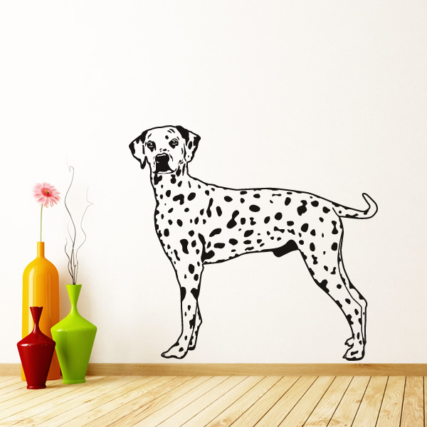 dalmatian dog animals wall art sticker wall decal puppy wall stickers reviews online shopping puppy wall