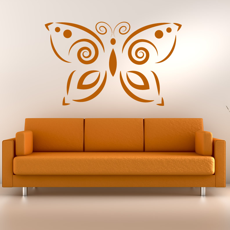 Decorative-Butterfly-Butterflies-Wall-Decals-Wall-Art-Stickers-Transfers