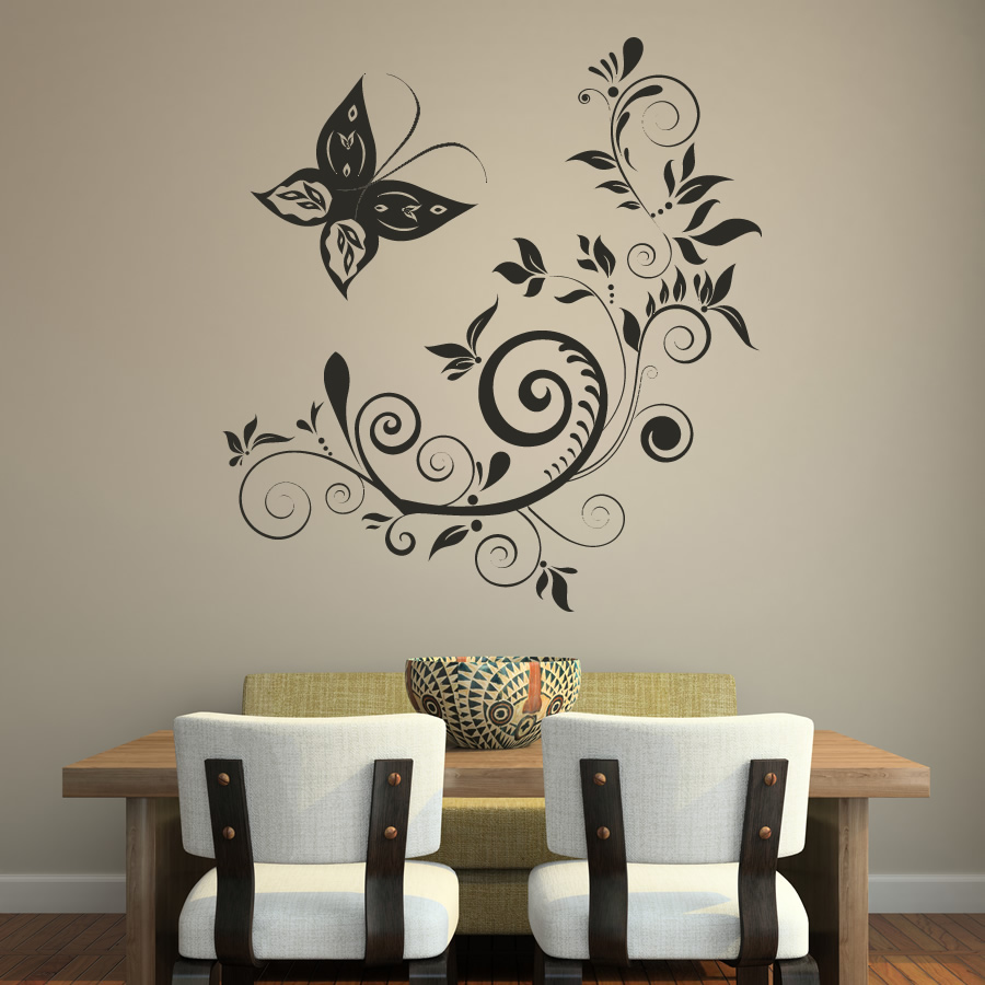 Art wall stickers 2017 grasscloth wallpaper for What kind of paint to use on kitchen cabinets for vinyl wall art stickers