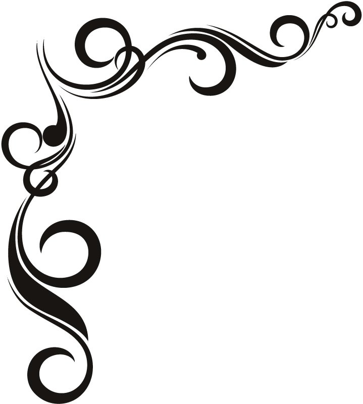 Twisted Wall Corner Border Stickers Flowers Art Decal Transfers EBay