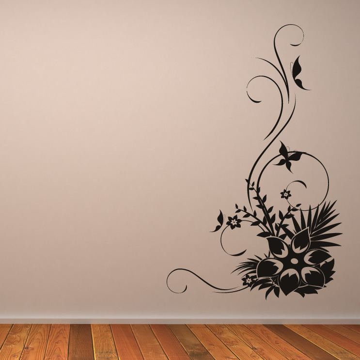 Wall Art Design Decals gallery of decal wall art the ravens glamorous design decals home and simple Wall Art Flowers Decals Flowers Butterflies Floral Wall Decal Wall Art Stickers Transfers