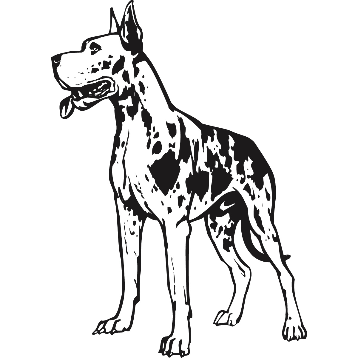 great dane lps coloring pages coloring pages
