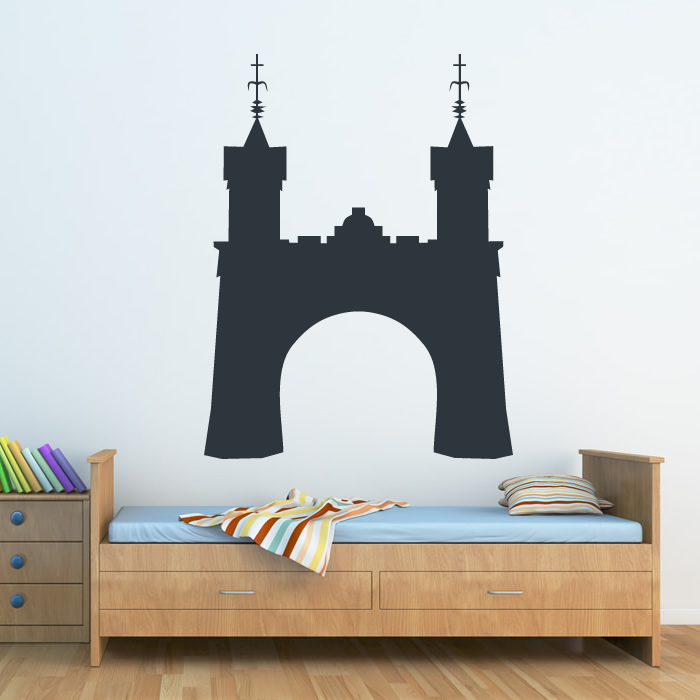 pics photos castle wall decal