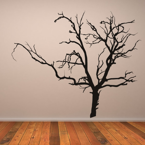 Tree stickers for walls 2017 grasscloth wallpaper for Tree wall art