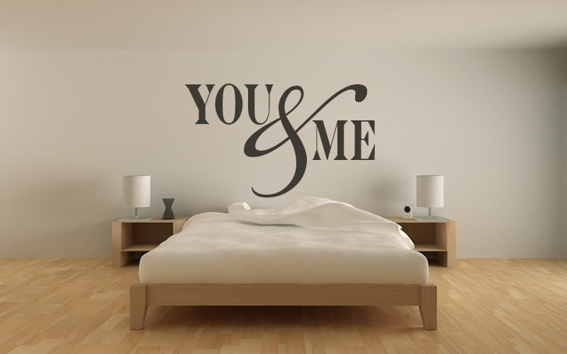 You Me Wall Stickers Love Quotes Wall Quotes Wall Art