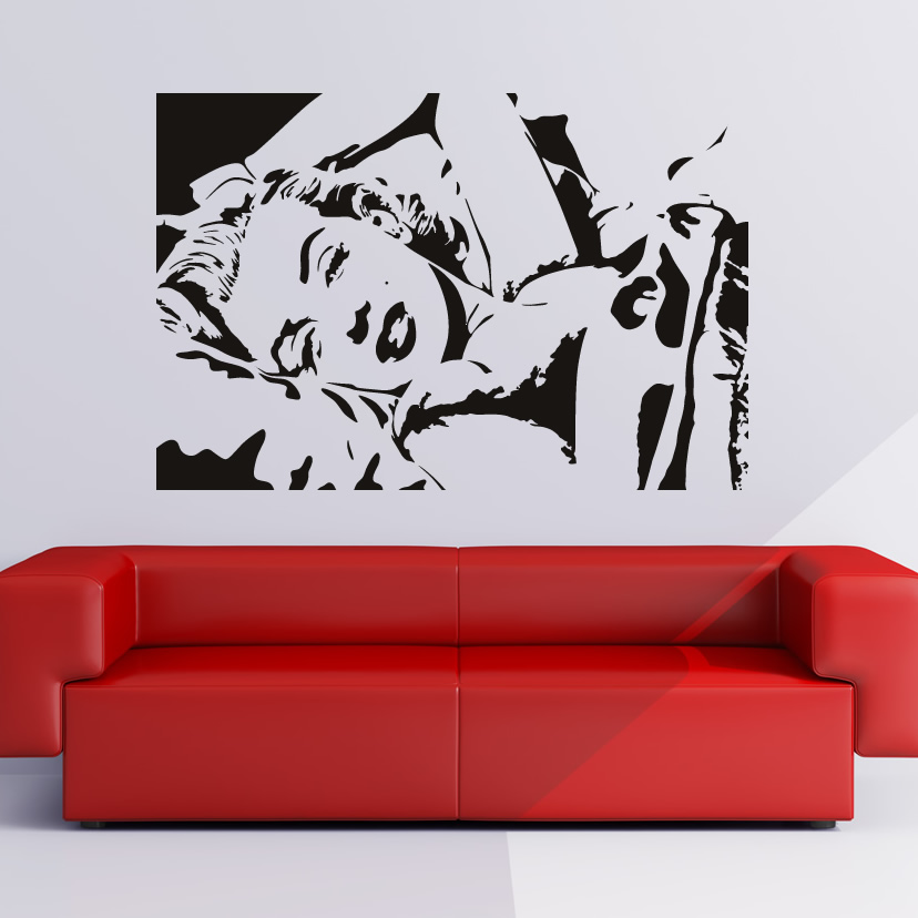 marilyn monroe icons and celebrities wall art decals wall nursery cherry blossom tree wall sticker decal childrens