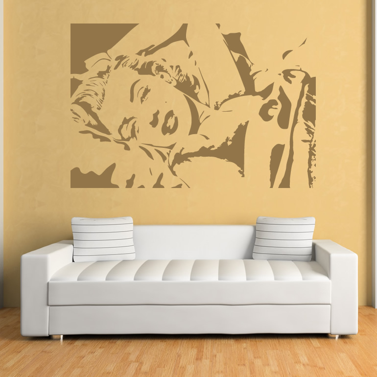Marilyn Monroe Icons And Celebrities Wall Art Decals Wall