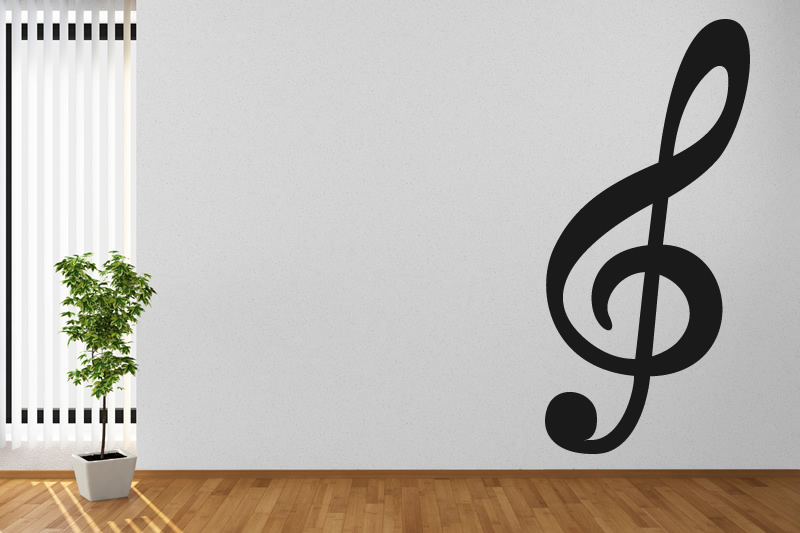 Accolade Musical Notes Music Wall Stickers Wall Art Decal