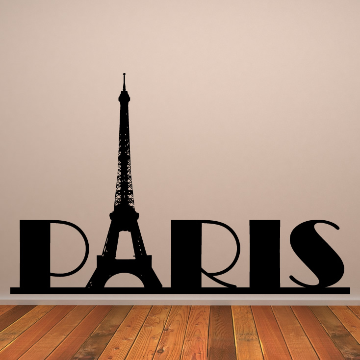 pics photos eiffel tower and paris wall sticker