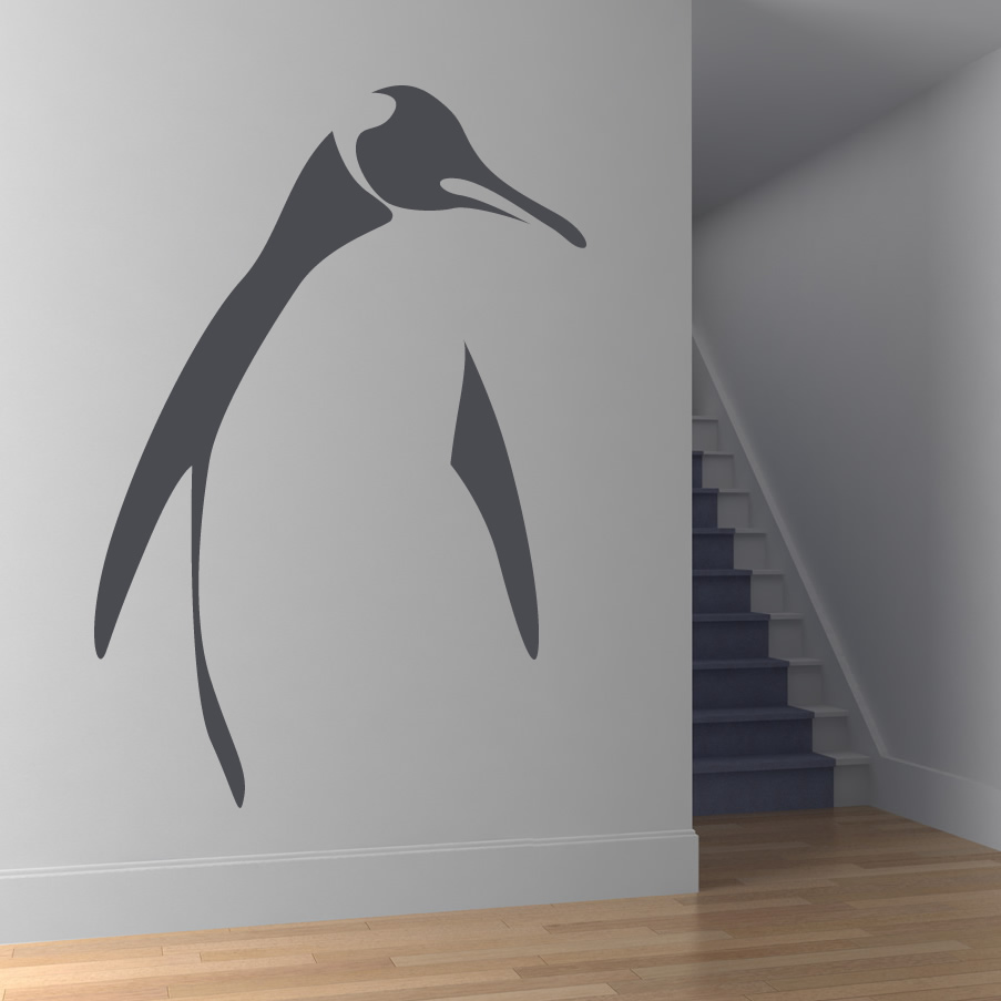 pics photos penguin wall sticker for sockets roommates 5 in x 19 in penguins of madagascar peel and