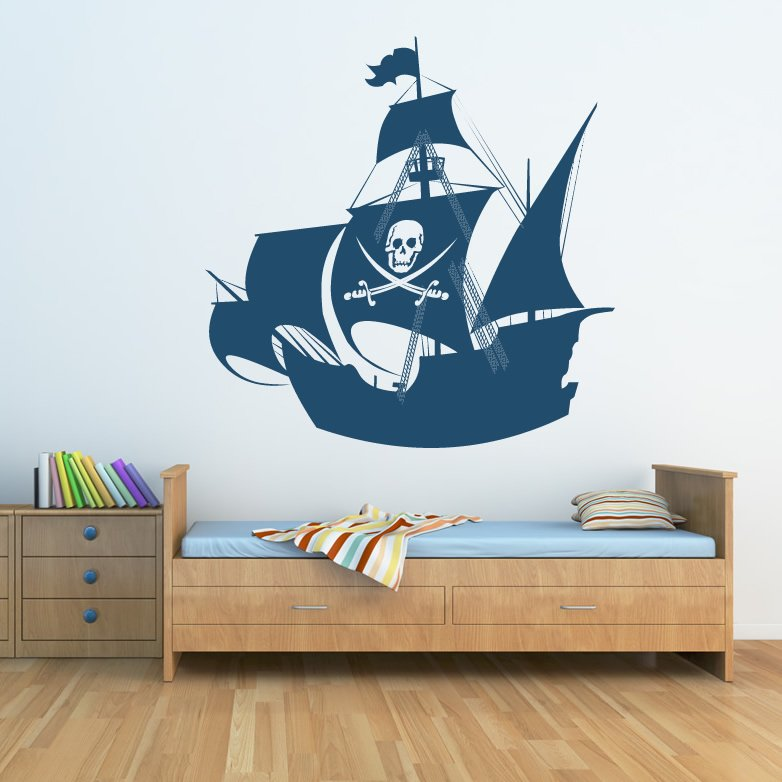 Pin pirates kids wall decal on pinterest