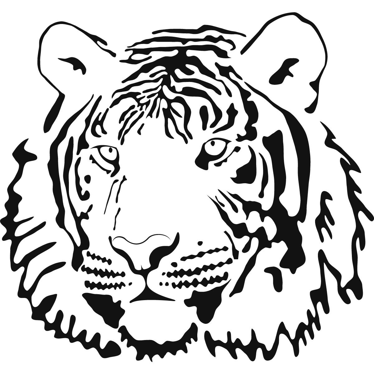 coloring pages of tiggers face - photo#3