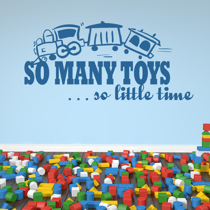 Toy Story Wall Decals Target : So Many Toys So Little Time Wall Decal