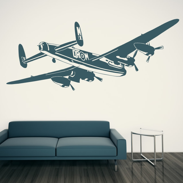 Airplane wall decals 2017 grasscloth wallpaper for Aeroplane wall mural