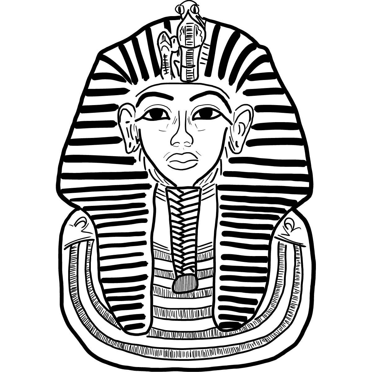 King Tut Tattoo Coloring Pages King Tut Coloring Pages